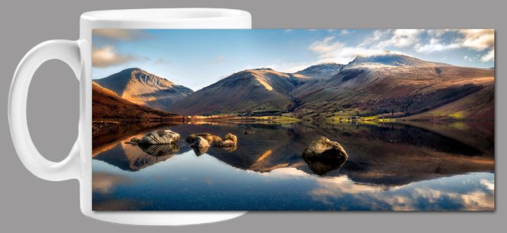 Morning Light on Scafell Pike Mug