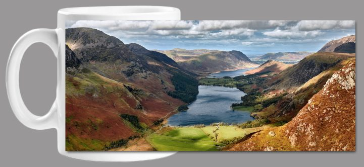 Buttermere From Fleetwith Pike Mug