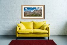 Sca Fell Pikes - Framed Print with Mount on Wall