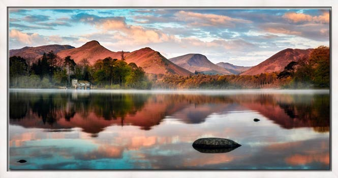 Cat Bells Red Dawn - Modern Print