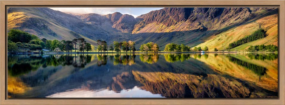 First Light at Buttermere - Modern Print