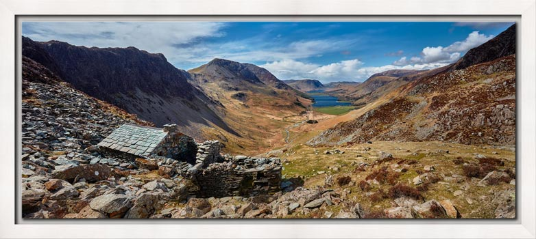 Warnscale Bothy and Buttermere Valley - Modern Print