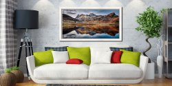 Dusk Over Blea Tarn - White Maple floater frame with acrylic glazing on Wall