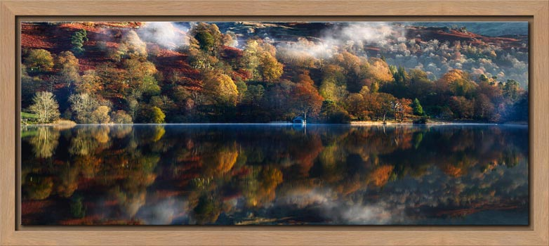 Rydal Water in Autumn - Modern Print