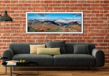 Glenridding Panorama - White Maple floater frame with acrylic glazing on Wall