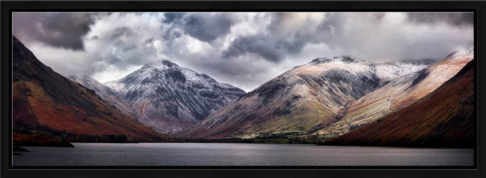 Great Gable and Lingmell - Modern Print