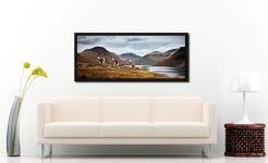 Three Sheep at Wast Water - Black oak floater frame with acrylic glazing on Wall