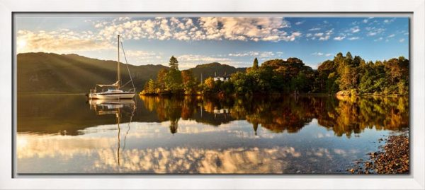 Brandelhow Point Reflections - Modern Print