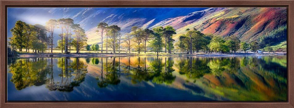 Buttermere Tranquility - Modern Print
