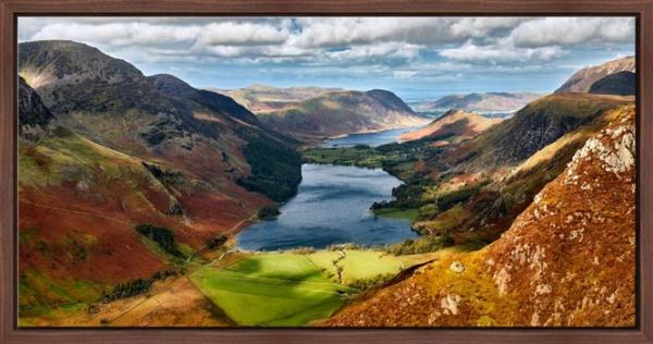 Buttermere From Fleetwith Pike - Modern Print