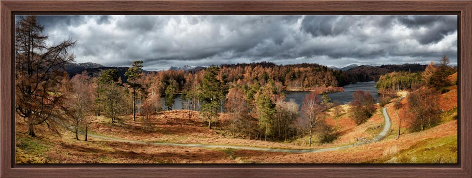 Tarn Hows Winter Colours - Modern Print