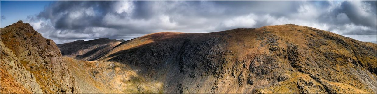 Dow Crag and Old Man Coniston - Canvas Prints