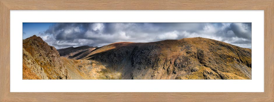 Dow Crag and Old Man Coniston - Framed Print