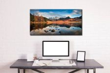 Spring Sunshine on Blea Tarn - Canvas Print on Wall