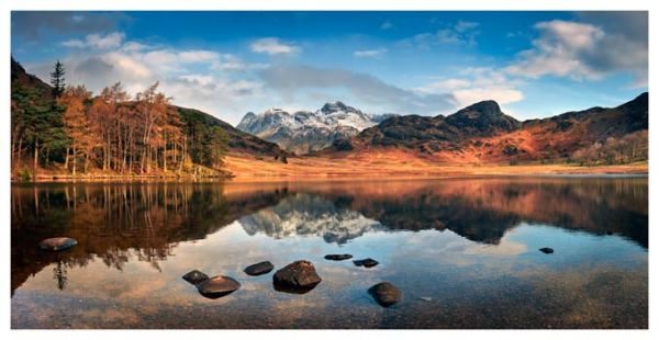 Spring Sunshine on Blea Tarn - Lake District Print