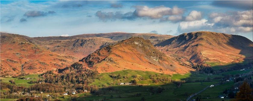 Helm Crag - Lake District Canvas