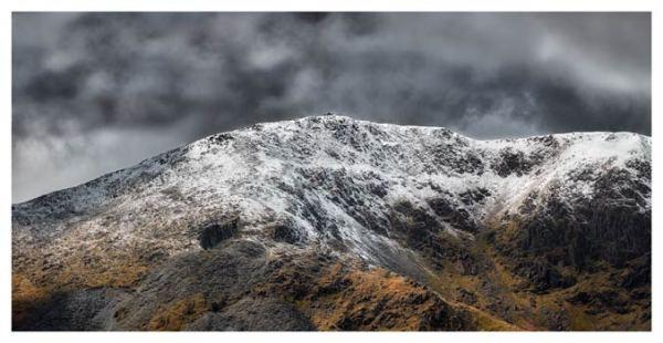 Coniston Old Man Summit - Lake District Print