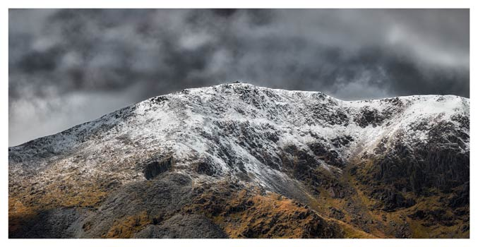 Coniston Old Man Summit - Lake District Print