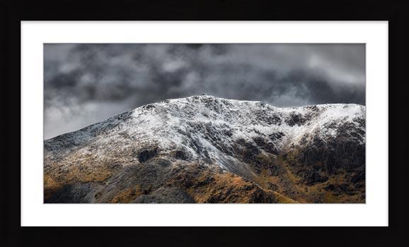 Coniston Old Man Summit - Framed Print