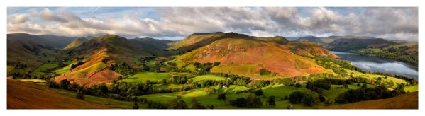 Hallin Fell Panorama - Lake District Print