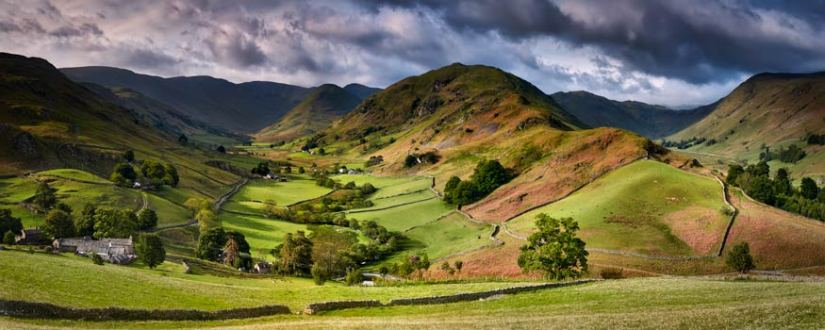 The Martindale Valleys - Lake District Canvas