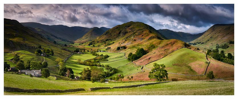 The Martindale Valleys - Lake District Print