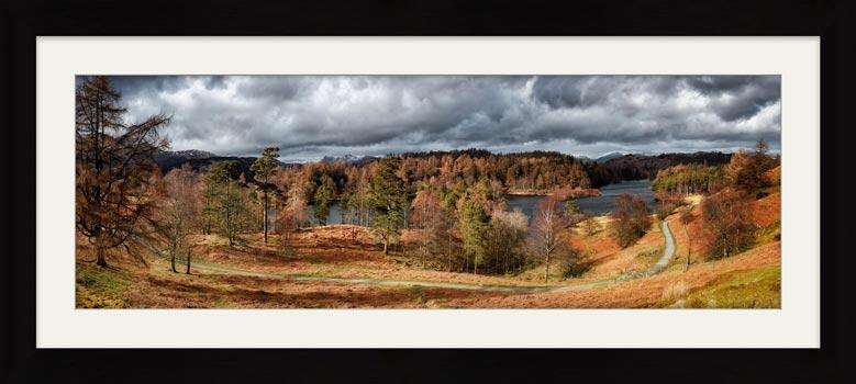 Tarn Hows Winter Colours - Framed Print
