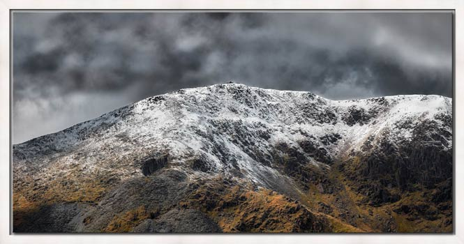 Coniston Old Man Summit - Modern Print
