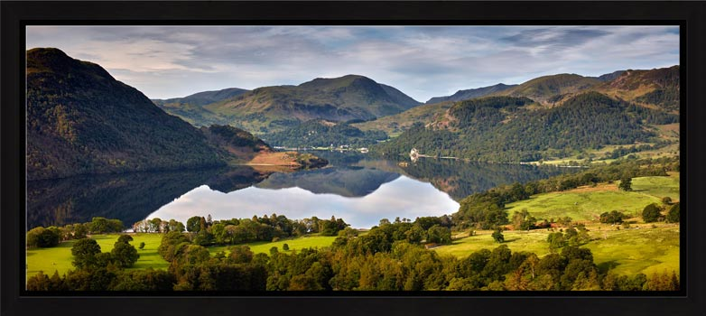 Ullswater Morning Reflections - Modern Print