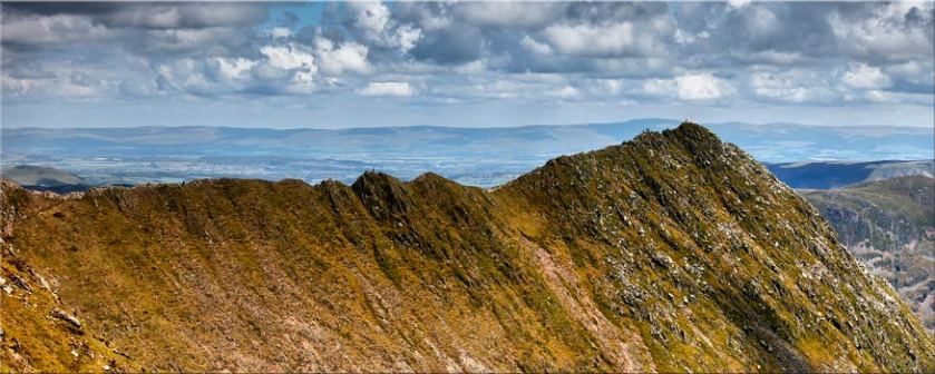 Striding Edge - Lake District Canvas
