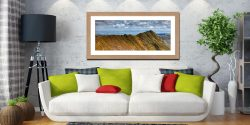 Striding Edge - Framed Print with Mount on Wall