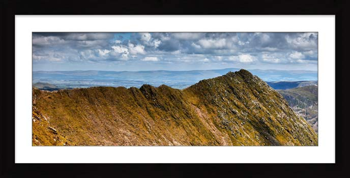 Striding Edge - Framed Print