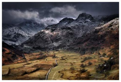 Path To The Pikes - Lake District Print