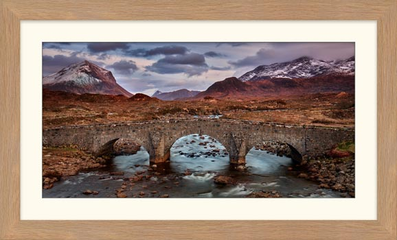 Glen Sligachan Bridge - Framed Print with Mount