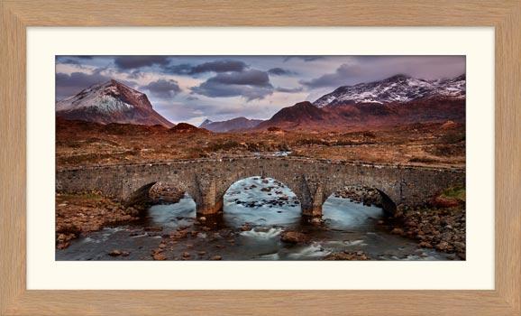 Glen Sligachan Bridge - Framed Print