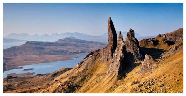 Old Man of Storr Panorama - Isle of Skye Print