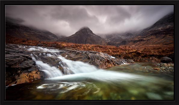Fairy Pools Swirl - Modern Print