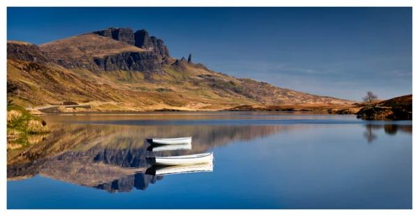 Peaceful Morning at Loch Fada - Isle of Skye Print
