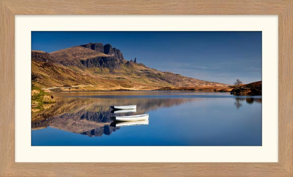 Peaceful Morning at Loch Fada - Framed Print
