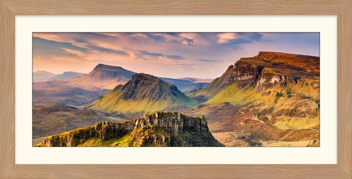 Trotternish Mountains Isle of Skye - Framed Print