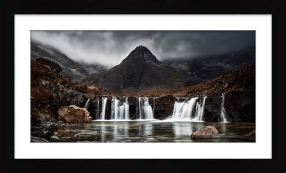 Fairy Pools Waterfall - Framed Print