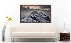Marsco Isle of Skye - Walnut floater frame with acrylic glazing on Wall