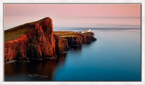 Calmness at Neist Point Lighthouse - Modern Print