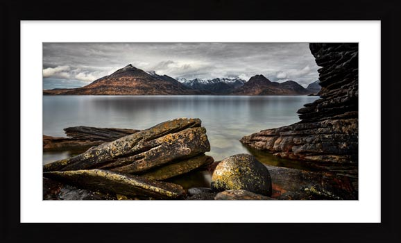 Cuillin Mountains From Elgol - Framed Print