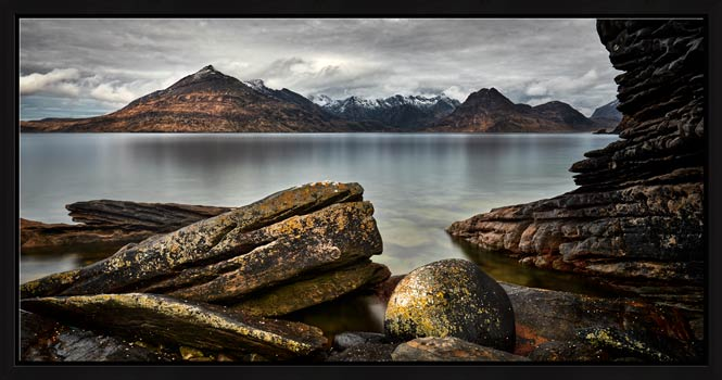 Cuillin Mountains From Elgol - Modern Print