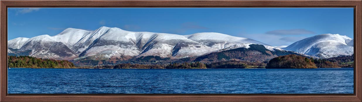 Skiddaw and Saddleback - Modern Print