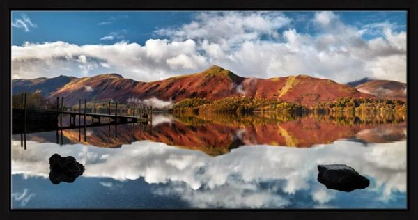 Cat Bells in Autumn - Modern Print