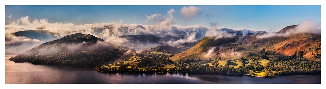 Ullswater Clouds and Mists - Lake District Print