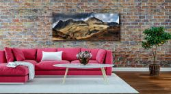 The Langdale Pikes - Print Aluminium Backing With Acrylic Glazing