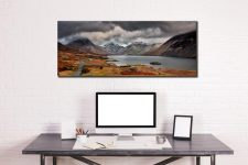 Wast Water Mountains - Canvas Print on Wall